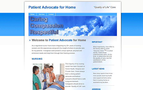 Patient Advocate for Home